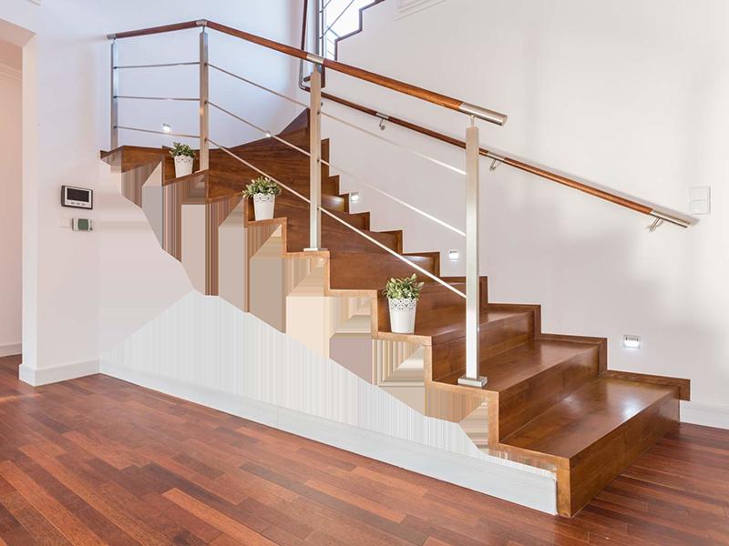 inspiration peinture mur-escalier