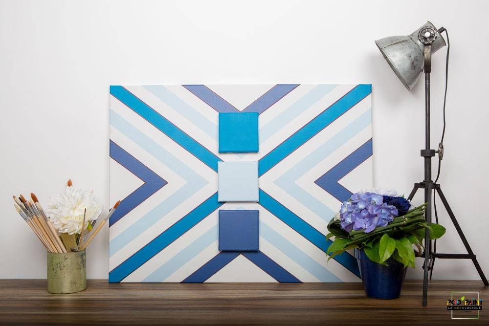 peinture mate bleu cyan ciel podpaint