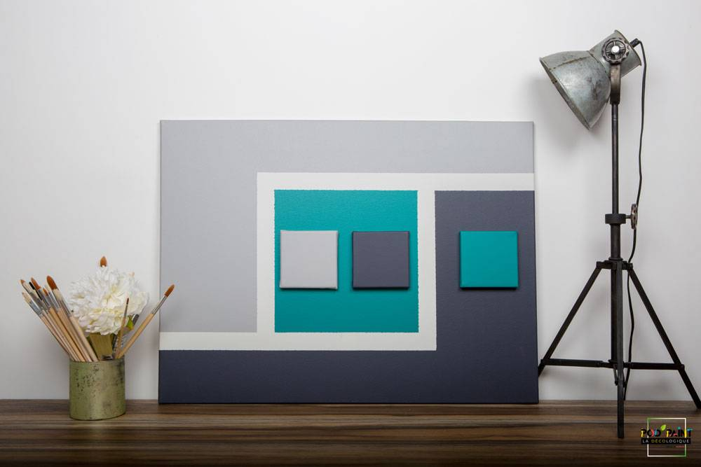 peinture mate bleu gris podpaint