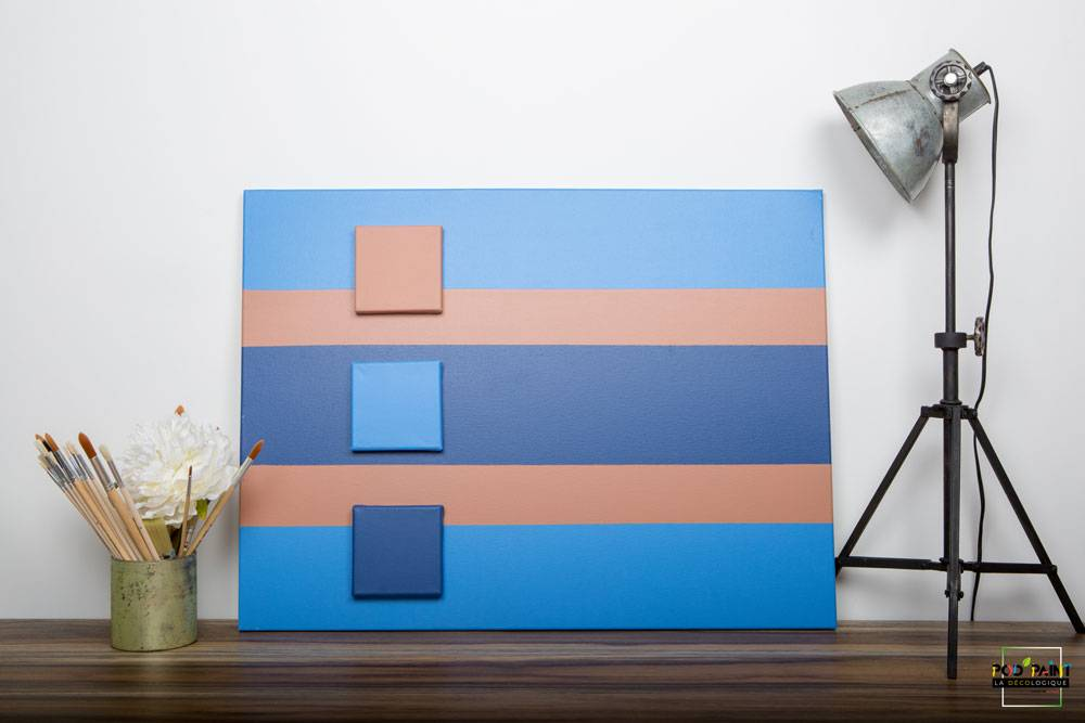 peinture mate bleu marron podpaint