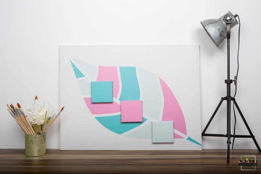 peinture mate bleu rose podpaint