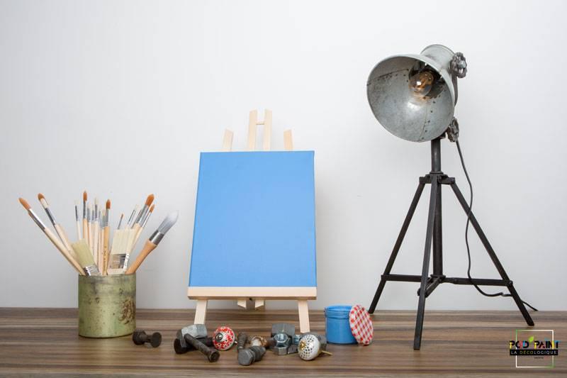 peinture mate bleu ryryne