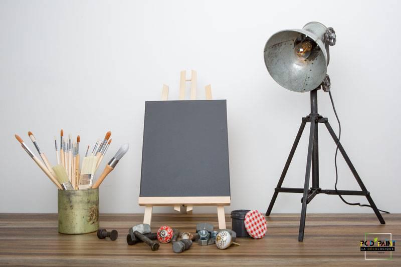 peinture mate gris or tourmaline