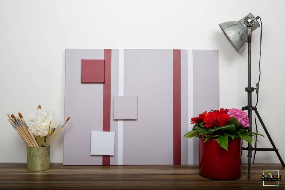 peinture mate gris rouge blanc podpaint