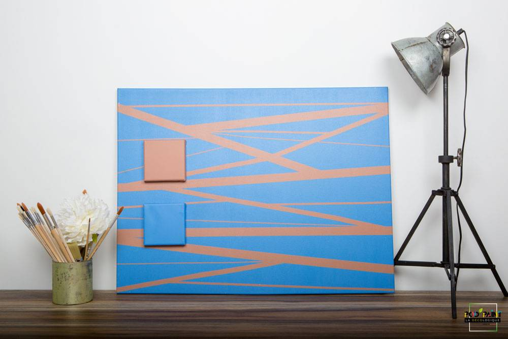 peinture mate marron bleu podpaint