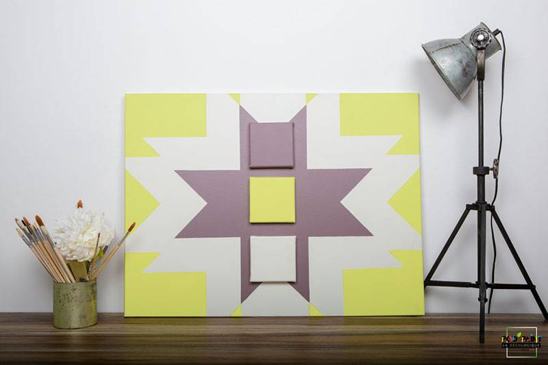 peinture mate mauve blanc jaune podpaint