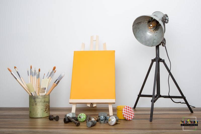 peinture mate orange éclat de joie