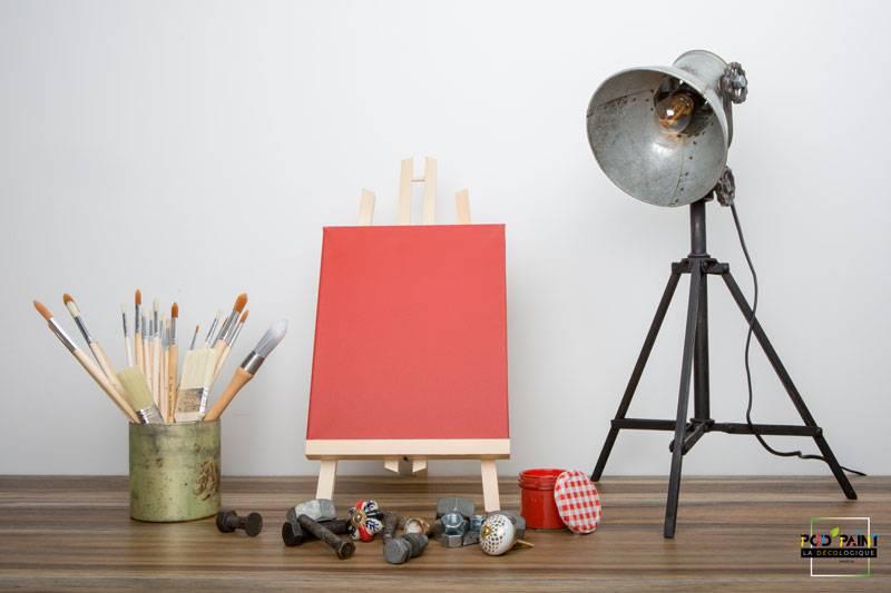 peinture mate rouge kako