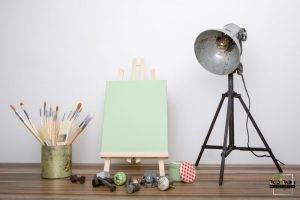 peinture mate vert sorbet printanier