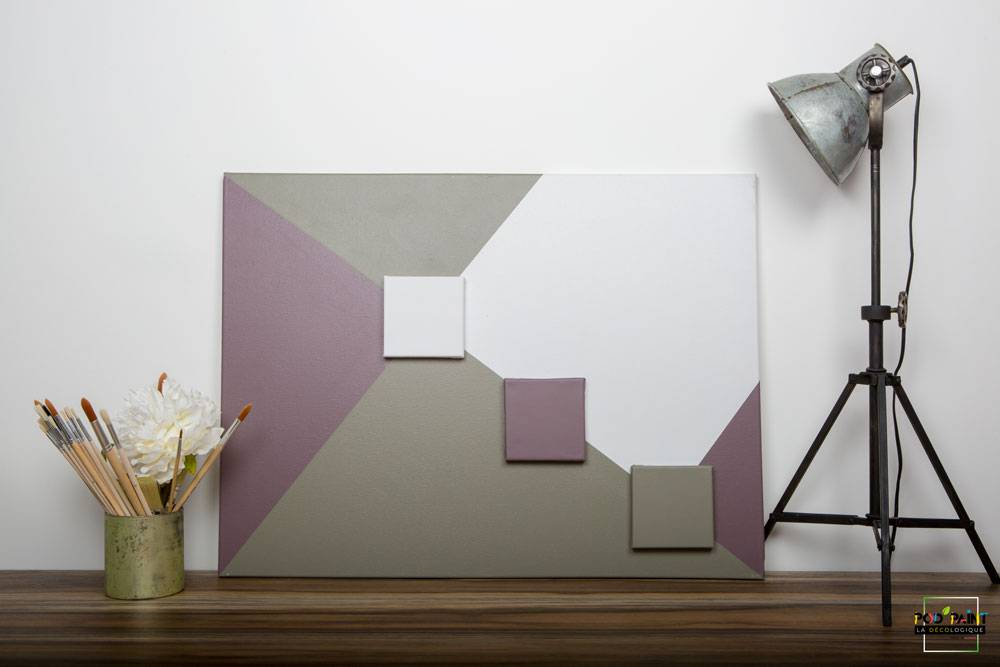 peinture mate violet blanc vert podpaint
