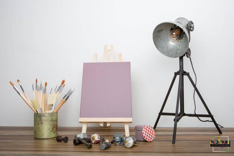 peinture mate violet prunelle des yeux
