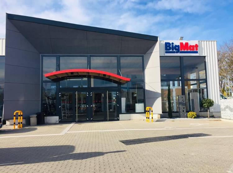 Big Mat Spielman Colmar point de vente Pod'paint