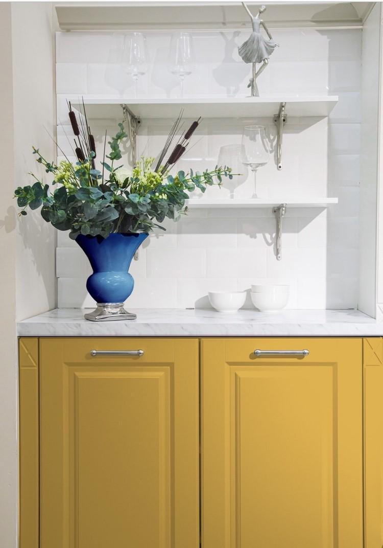 Peinture ambre décoration meuble Étoile d'Ambre