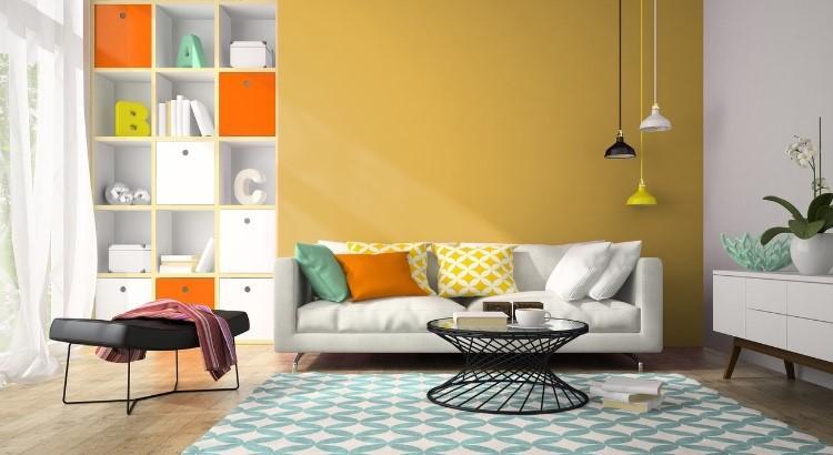 Peinture ambre mur Étoile d'Ambre