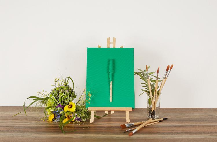 Teinte vert béguin de jade