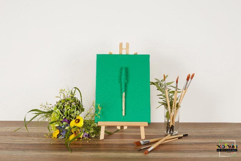 Peinture mate vert béguin de jade