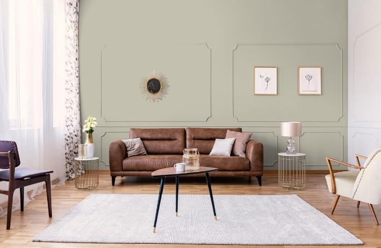 Peinture vert décoration intérieur émoustillante agate