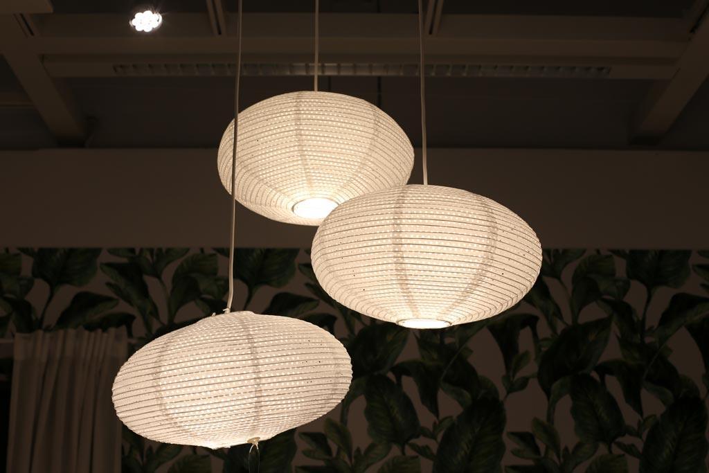 Luminaires en papier