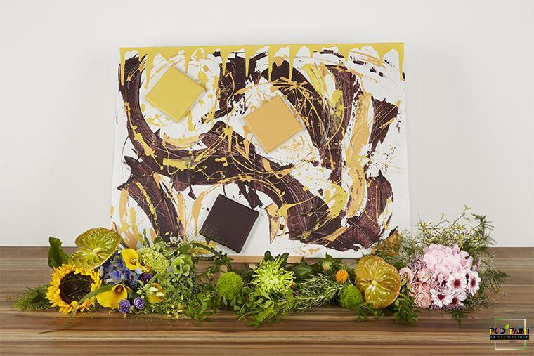 Peinture écologique améthyste jaune Pod'Paint