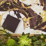 Tableau excentrique mauve jaune peinture écologique Pod'Paint