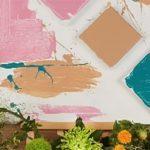 Tableau frais soleil de pierre peinture écologique Podpaint